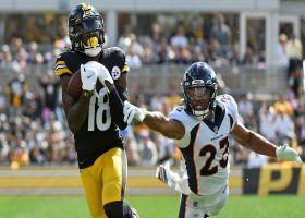 Can't-Miss Play: Roethlisberger unloads cannon on 50-yard TD to Diontae Johnson
