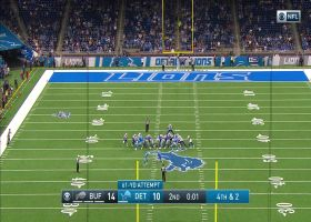 Can't-Miss Play: Prater boots 61-yard FG indoors to close first half