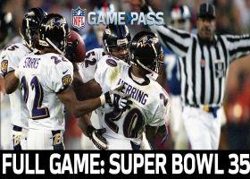 Full NFL Game: Super Bowl XXXV - Ravens vs. Giants | NFL Game Pass