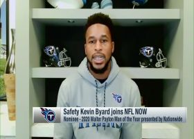 Kevin Byard reacts to nomination for Walter Payton Man of the Year