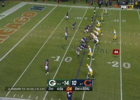 Aaron Rodgers finds Dominique Dafney all alone for 13-yard TD