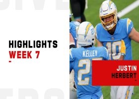 Justin Herbert's most impressive plays from 4-TD game | Week 7