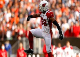 Cardinals' all-out, fourth-down blitz pays off with Jordan Hicks sack