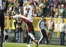 Terry McLaurin shows off his vertical leap on 12-yard grab