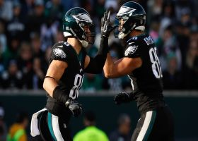 Tom Pelissero offers injury updates for Dallas Goedert, Zach Ertz