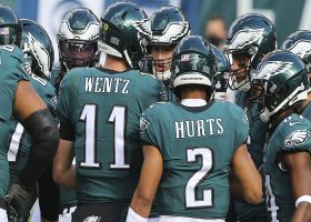 Debate: Would Eagles be better off with Hurts or Wentz at QB?