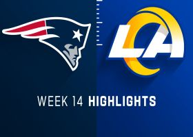 Patriots vs. Rams highlights | Week 14