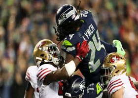 Marshawn Lynch sends 'The Clink' into a frenzy with airborne TD