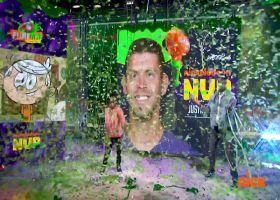 Lincoln Loud announces Justin Tucker as MVP from Week 3 | 'NFL Slimetime'