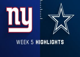 Giants vs. Cowboys highlights | Week 5