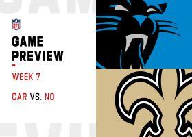 Panthers vs. Saints preview | Week 7