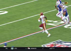 Scary Terry McLaurin turns slant into speedy 37-yard sprint