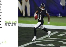 Next Gen Stats: Ravens' top 5 longest distances covered in first quarter