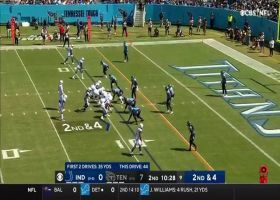 Nyheim Hines escapes around the edge for pylon-reach TD