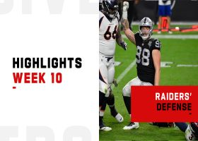 Biggest plays by the Raiders' defense | Week 10