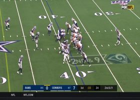 Josh Reynolds turns well-executed screen into 28-yard gain