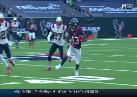Watson's laser pass perfectly placed for Brandin Cooks' 44-yard catch and run