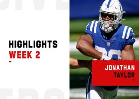 Jonathan Taylor's best runs from 101-yard game   Week 2
