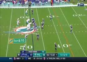 Fitzpatrick lowers the arm angle for 20-yard sidearm pass