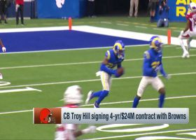 Tom Pelissero details Troy Hill's four-year deal with the Browns
