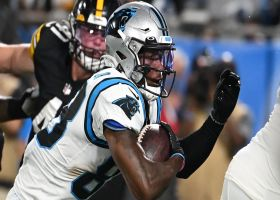 Terrace Marshall Jr. turns tunnel screen into quick 13-yard TD