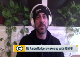 Aaron Rodgers: I still 'love' playing football, I don't want to give that up