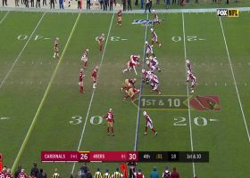 Niners fall on KeeSean Johnson's fumble to ice win over Cardinals