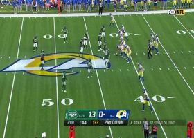 Jared Goff delivers 17-yard strike to Tyler Higbee