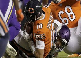 Vikings' blitz pays off, Wilson wraps up Trubisky for the sack