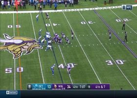 Double take! Lions block another punt