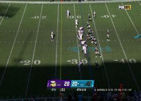 Sam Darnold lobs 26-yard dime to DJ Moore in the clutch