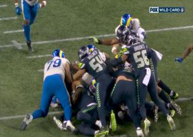 Seahawks stuff Jared Goff on fourth-and-1 for turnover on downs