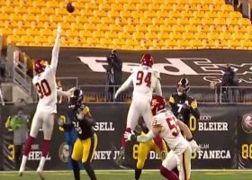 Can't-Miss Play: Montez Sweat's tip ends in clutch INT by Jon Bostic