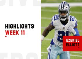 Best plays by Ezekiel Elliott from 114-yard game | Week 11