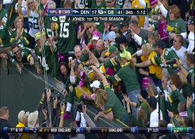 Aaron Rodgers' perfect pass finds James Jones for TD