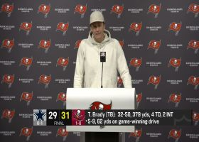 Brady after Bucs' narrow win over Cowboys: 'There's obviously a lot to clean up'