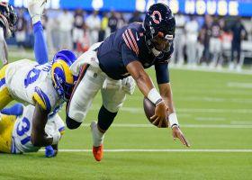 Justin Fields' first NFL TD comes on designed QB run