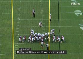 Daniel Carlson's 30-yard FG extends Raiders' lead to 17