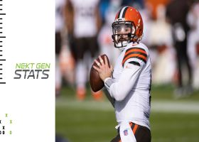 Next Gen Stats: The factor that sparked Baker Mayfield's big day