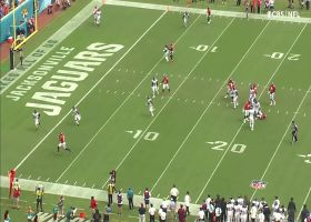 Bridgewater locates Patrick on shallow cross for 12-yard TD catch and run