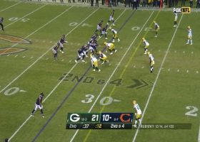 Trubisky, Montgomery connect to get CHI into scoring range
