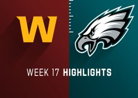 Washington vs. Eagles highlights | Week 17