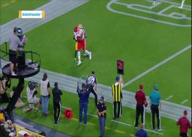 Chiefs rookie Fortson gets space for touchdown catch