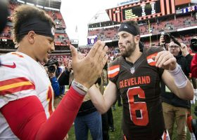 Back in Time: Schrager reviews the 'intricate history' of Mayfield vs. Mahomes