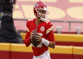 Chiefs' WILD play design ends in TD from Mahomes to Robinson