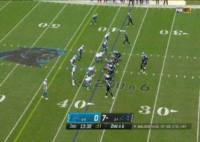P.J. Walker finds soft spot, darts pass to Robby Anderson for first down