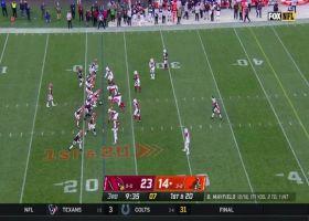 Mayfield dots Beckham Jr. along sideline for 24 yards