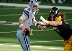 'What a play!' Garrett Gilbert impresses Tony Romo on 15-yard scramble
