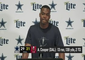 Amari Cooper reacts to Cowboys' last-second loss to Bucs