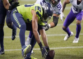 Pete Carroll's challenge flag pays off with Seahawks fumble recovery